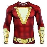 Shazam 3D Print T Shirt Men's Compression Shirt