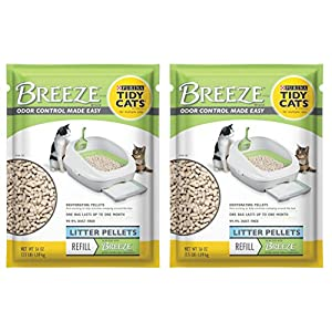 Purina Litter Tidy Cat Breeze Pellets, 3.5 lb, 2 Packs 67