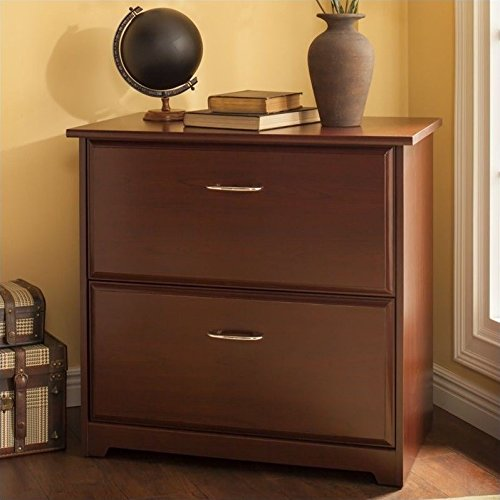 Traditional Lateral File Cabinet (Cabot Lateral File Cabinet in Harvest Cherry)