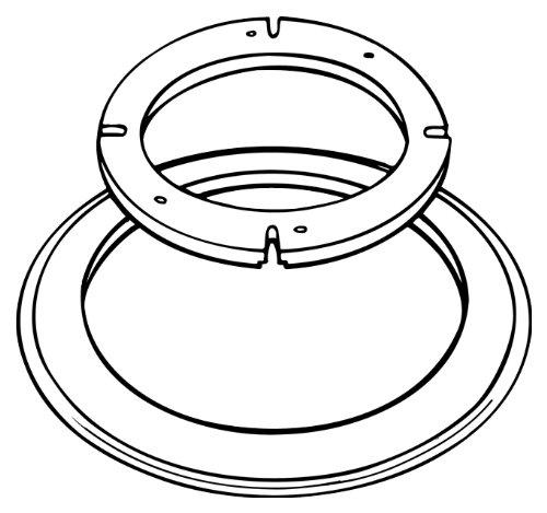Dometic 385310139 Universal Toilet Mounting Kit - White