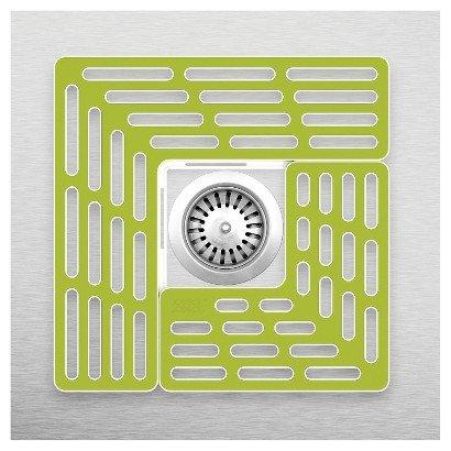 Joseph Joseph Sink Saver - Adjustable Sink Protector  green