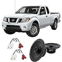 Fits Nissan Frontier 2005-2015 Rear Door Factory Replacement Harmony HA-R65 Speakers