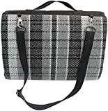Good Gain Large Picnic Blanket Tote with Back