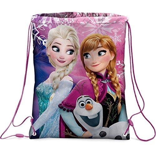 GUIZMAX Sac Souple La Reine des Neiges Disney Gym Piscine Tissu Frozen