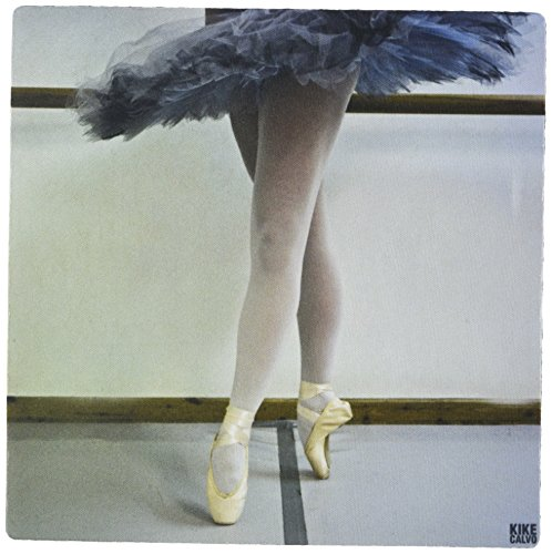 3dRose 8 x 8 x 0.25 Inches Spanish Dancer is Training at the Ballet School in Zaragoza Mouse Pad (mp_10048_1) by 3dRose