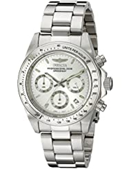 Invicta Mens 14381 Speedway Chronograph Stainless Steel Watch with Link Bracelet