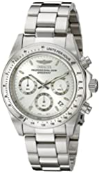 Invicta Men's 14381 Speedway Chronograph Stainless Steel Watch with Link Bracelet