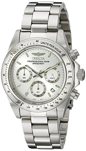 Invicta Men's 14381 Speedway Chronograph Stainless Steel Watch with Link Bracelet -