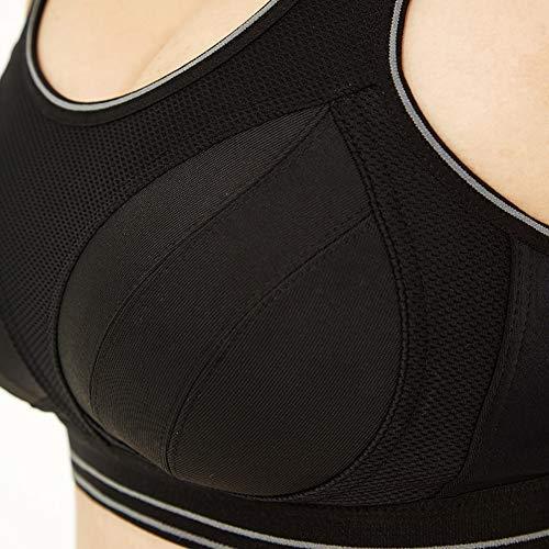 Sport Sans Noir Antichoc Lgizw Sport Femme Femme Gilet Grande De Professionnel Taille gorge Soutien Jante aaq0wtS
