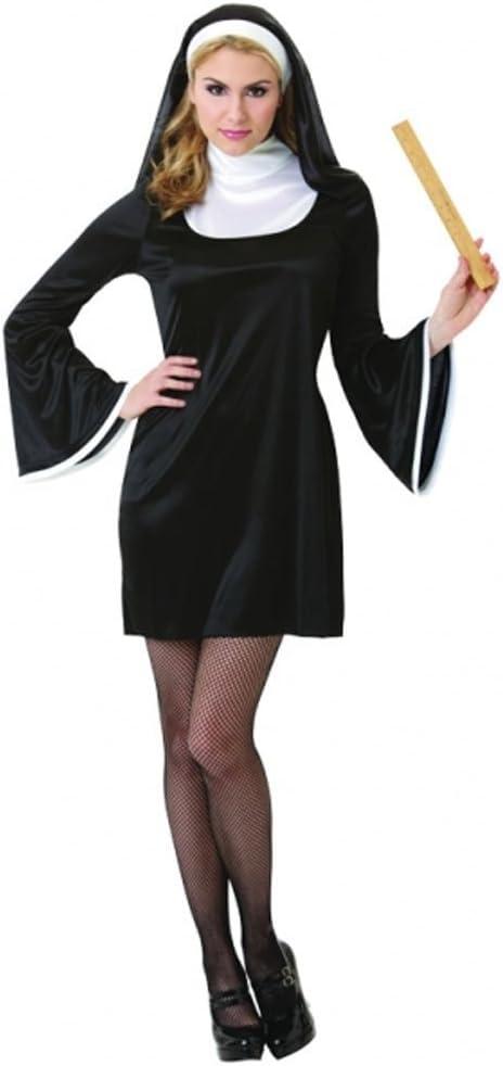 Christy`s 996183 - Disfraz de monja para mujer (adulto) (talla ...