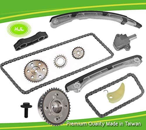 Timing Replacement Chain Kit Fits Mazda 3 6 CX-7 2.3L MPS TURBO VVT ADJUSTER Gear L3K9 L3KG L3VDT 2007-2013