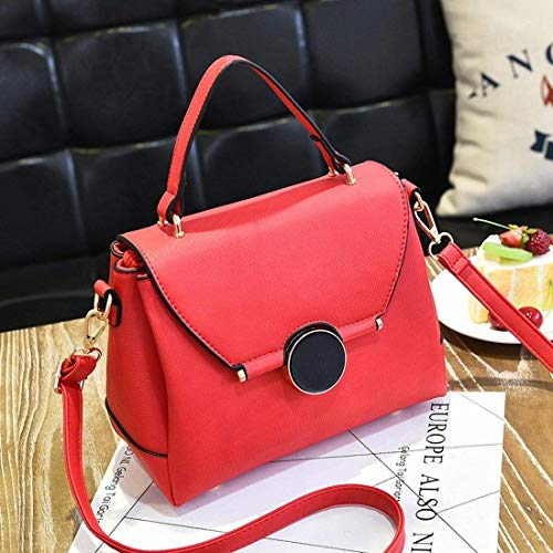 Rubber Sweet Big Per Lady Borsa Red Dimensione Tracolla Donna Powder A Messenger colore Moontang qzwY1C