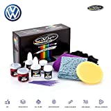 Volkswagen Crimson RED Metallic - LD3Y Touch Up Paint for Golf, Passat, GTI, Polo, Jetta, TIGUAN, Beetle and All Models Paint Scrath and Chips Repair Kit - OEM Quality, Exact Color Match - Plus Pack