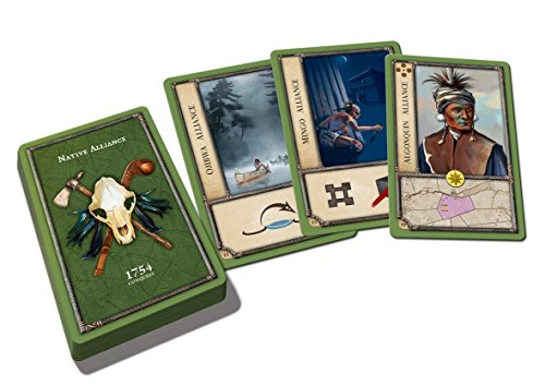 French Deck (1754 Conquest Native Alliance Expansion Card Deck)