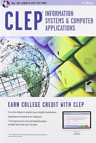 CLEP® Information Systems & Computer Applications Book + Online (CLEP Test Preparation)