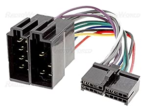51HRgkM67LL._SX300_ iso wiring harness connector adaptor for sendai amazon co uk wiring harness connectors at alyssarenee.co