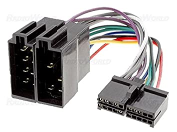 51HRgkM67LL._SX355_ iso wiring harness connector adaptor for sendai amazon co uk iso wire harness at bayanpartner.co