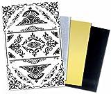7gypsies 17724 Textured Rubon: Victorian Corners PK