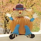 Fabric Pumpkin Wear - Scarecrow (6.5x7.5)