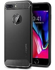 Spigen Rugged Armor Designed For Iphone 8 Plus Case (2017) / Designed For Iphone 7 Plus Case (2016) - Black