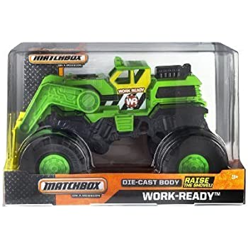 Matchbox On A Mission 1:24 Scale Work Ready Monster Truck