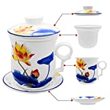 Tea Talent Porcelain Tea Cup with Infuse