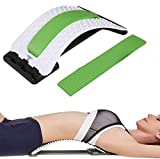 Best Arched Back Stretcher As Seen Doctors TV - CHISOFT Lumbar Stretching Device | Improve Posture | Get Muscle Tension, Back Pain Relief Here