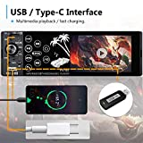 Bluetooth Single Din Car Stereo Touch Screen Radio