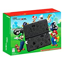 Nintendo New 3DS Super Mario Black Edition - Nintendo 3DS
