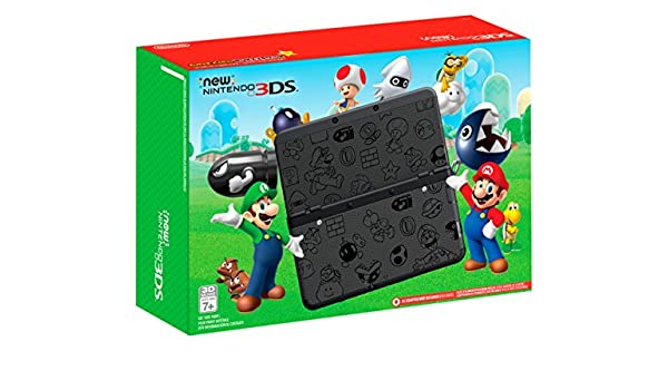 Nintendo New Nintendo 3DS Super Mario Black Edition ...