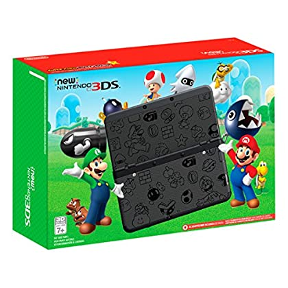 Image of Nintendo New Nintendo 3DS Super Mario Black Edition - Nintendo 3DS Games