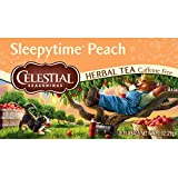 Celestial Seasonings Sleepy Time Peach Herbal Tea, 20 Count