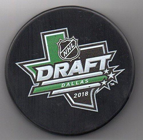 2018 NHL Entry Draft Dallas Stars Texas American Airlines Center NHL Hockey Puck + FREE Cube
