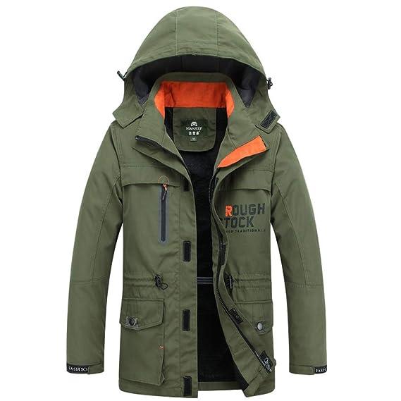 regarder 82b92 73aa6 Flying.Jacket Manteau Homme Hiver Chaud Militaire Veste ...