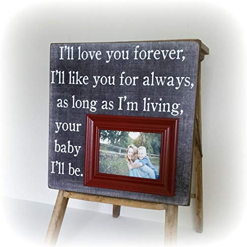 Amazoncom Ill Love You Forever Picture Frame 16x16 The Sugared
