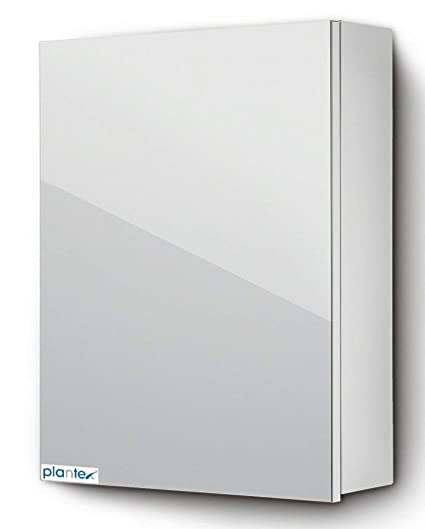 Plantex High Grade 304 Stainless Steel Bathroom Mirror Cabinet