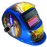 Welding Helmet, Solar Power Auto Darkening CE Welding Mask, Professional Hood Wide Lens