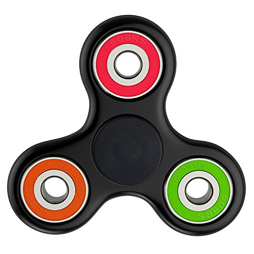 Price comparison product image Spinner Hand Fidget Toy with Hybrid Ceramic Bearing, Stress Reducer, Perfect for ADD, ADHD, Anxiety