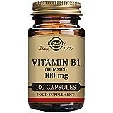 Solgar – Vitamin B1 (Thiamin) 100 mg, 100 Vegetable Capsules Review