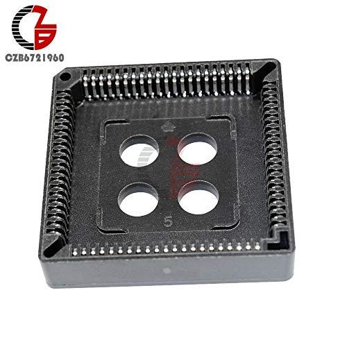 Sockets 10PCS PLCC 84 PINS IC Socket DIP PLCC-84 - Plcc 84 Pin Socket