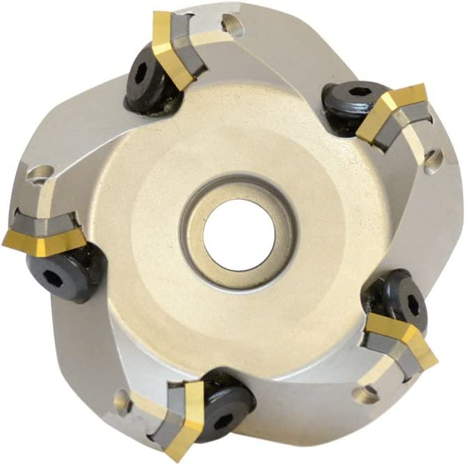 """3/""""x1/"""" 45 Degree Indexable Face Mill Milling Cutter SEKN Inserts Carbide Shims"""