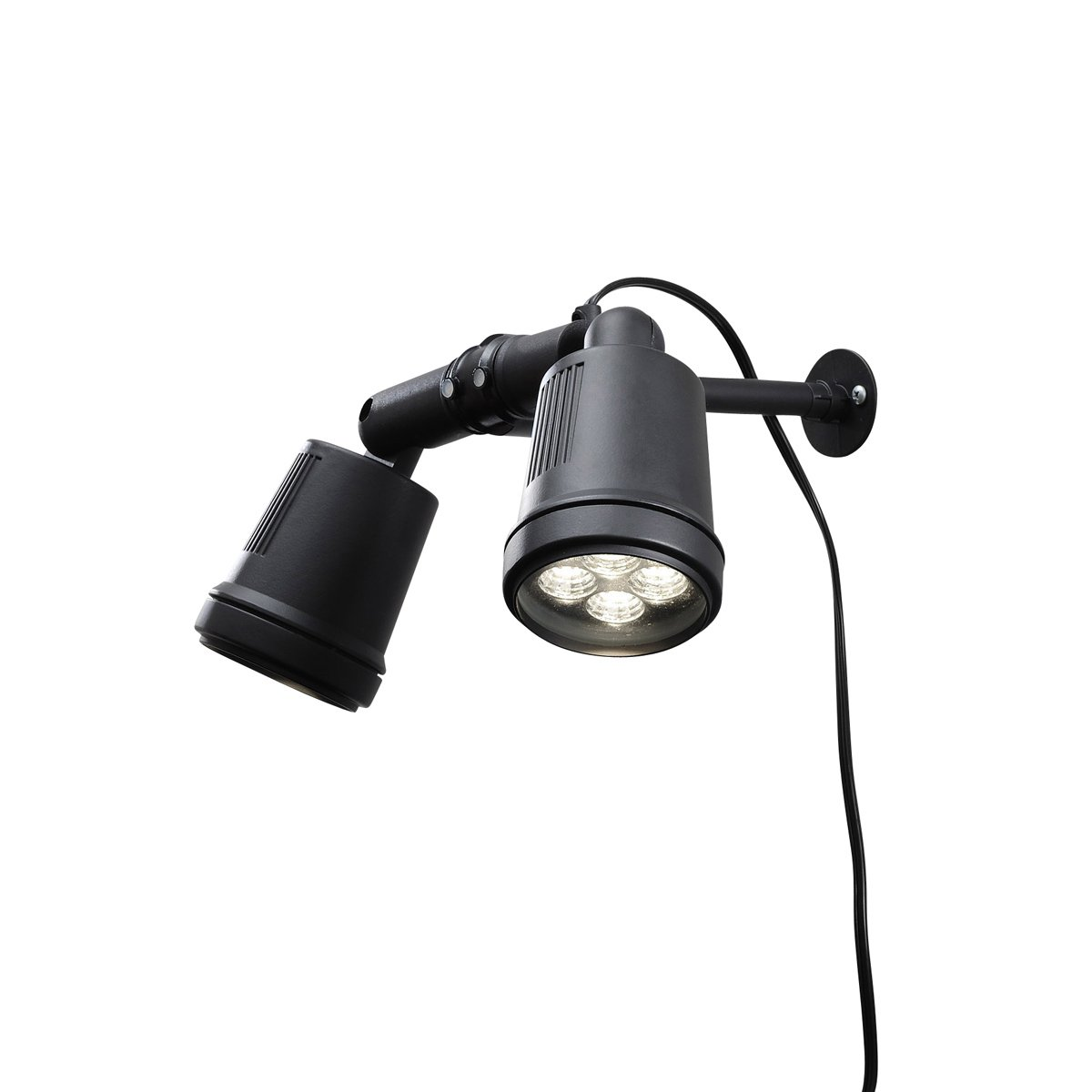 Warm White Konstsmide Effect Amalfi Twin High Power LED Garden Spot Light