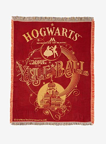 Harry Potter Yule Ball Tapestry Throw Blanket