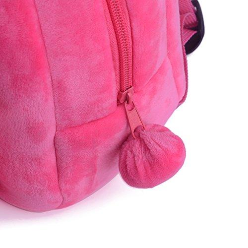 Gloveleya Bunny Rabbit Plush Kid's Backpack Shoulder Bags Easter Gifts 8'' for Kids Under 5 Years Old by Gloveleya (Image #5)