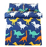 Sandyshow 3PC Dinosaur Bedding for Boys and Girls
