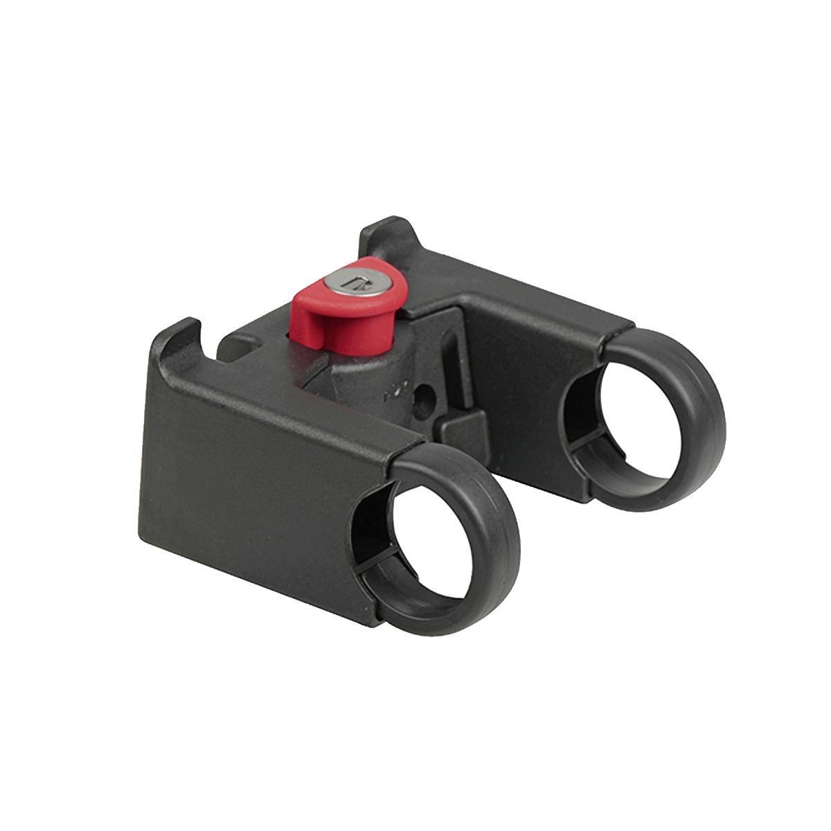 KLICKfix Zubeh/ör Gep/äcktr/äger-Adapterplatte Adapter one size Schwarz