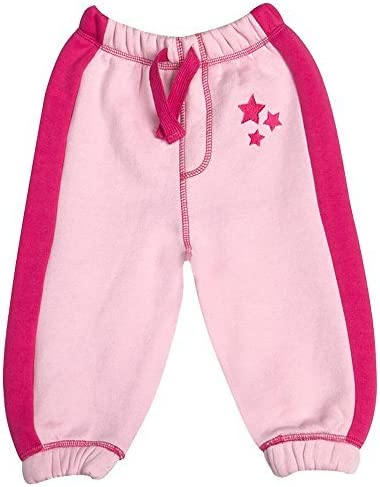BabyTown Bebé Niña Infantil Estrella Rosa Pantalón de chándal ...
