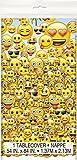 Emoji Plastic Tablecloth, 84