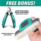Ruff 'n Ruffus Deshedding Brush + Free Bonus Nail