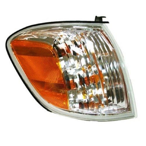 (Go-Parts » OE Replacement for 2005-2007 Toyota Tundra Turn Signal Light Assembly/Lens Cover - Front Right (Passenger) Side - (Crew Cab Pickup) 81510-0C030 TO2531147)